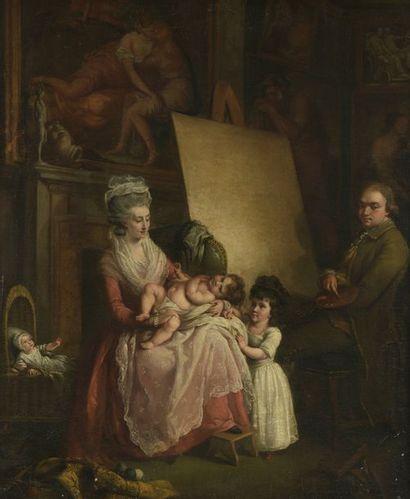 Attribué à John Francis RIGAUD (1742 - 1810)...