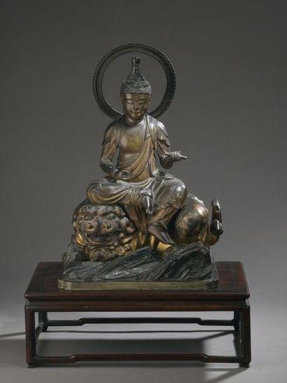 JAPON - Milieu Époque EDO (1603 - 1868) Statuette...
