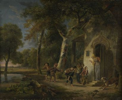 Jean-Louis DEMARNE (1752-1829) Le petit Poucet...