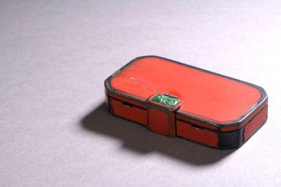 VANITY-CASE rectangulaire à pans coupés en...