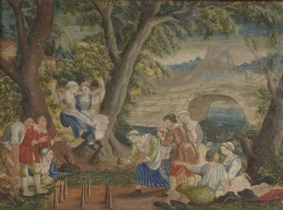 École FRANÇAISE du XVIIe siècle, d'après...