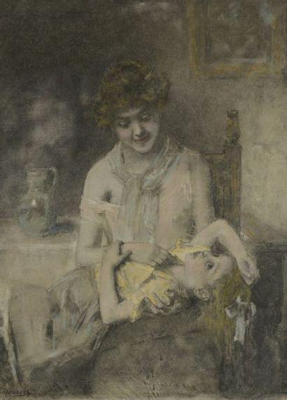 Alexei Alexeiévitch HARLAMOFF (1840-1925)...