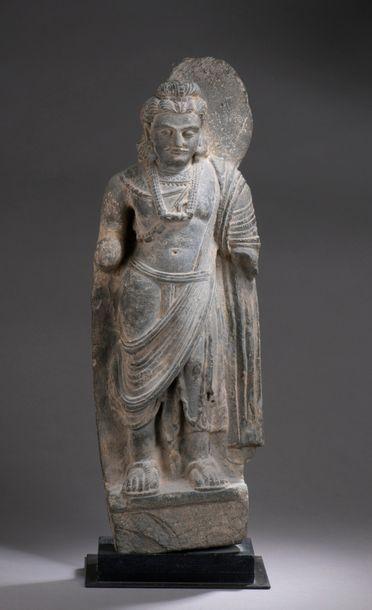 GANDHARA, art gréco-bouddhique, IIe/IVe siècle...