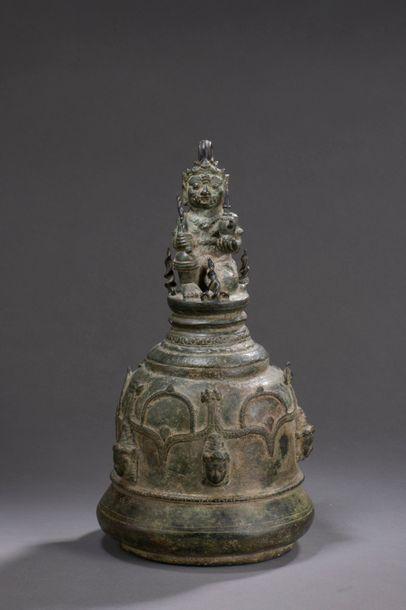 INDONESIE, JAVA - XIIe/XIIIe siècle Cloche...