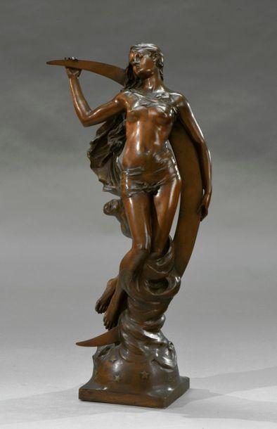 Edouard DROUOT (1859-1945) La nuit Epreuve...