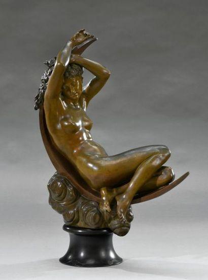 Séraphin DENECHEAU (1831-1912) Phoebé Important...