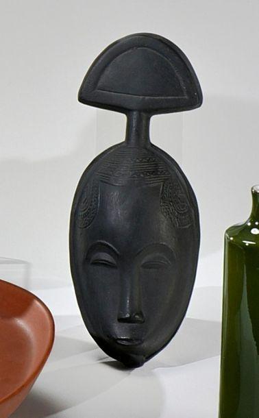 Roger CAPRON (1922-2006) Masque africaniste...