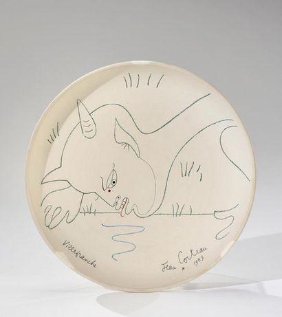 Jean COCTEAU (1889-1963) et atelier Madeleine...