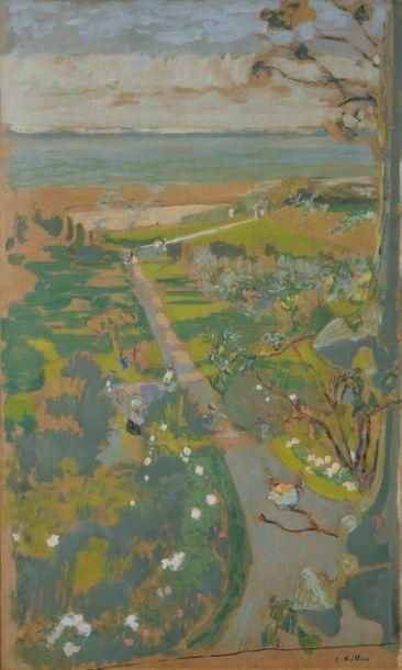 Édouard VUILLARD (1868-1940) Vue des Pavillons...
