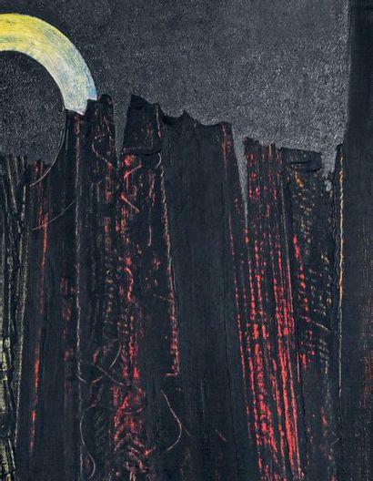Max ERNST (1891-1976) Forêt, 1927 Huile sur toile, signée en bas à droite. H. 65...