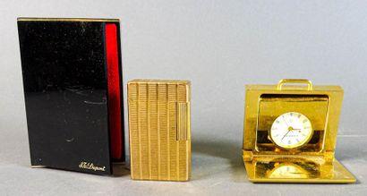 LANCEL, S.T Dupont Lot comprenant un mini...