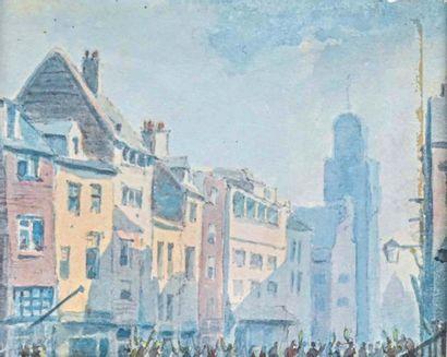 Pierre Luc Charles CICERI (1782-1868) Rue...