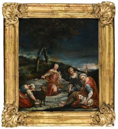 Atelier de Giuseppe Maria CRESPI (1665-1747)...