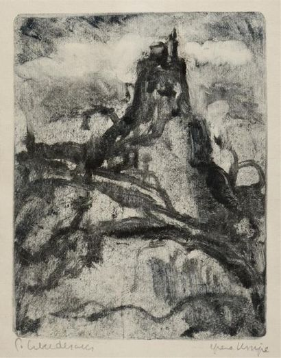 Pierre COMBET-DESCOMBES (1885-1966) Le Puy-en-Velay...