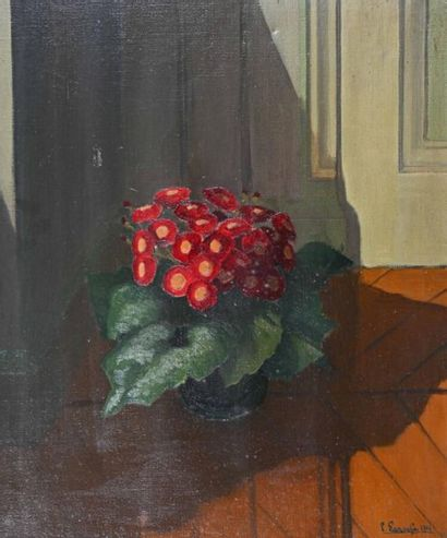 Pierre LAROCHE (1893-1982) Bouquet de fleurs...