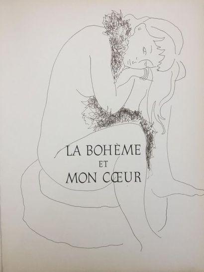 """Alain BONNEFOIT (né en 1937) """"Lysistrata"""" d'Aristophane et """"La Bohème et coeur""""..."""