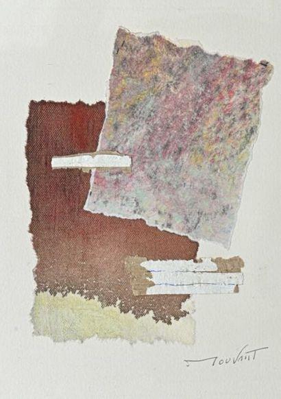 Henri MOUVANT (1926-2015) Composition, 2014...