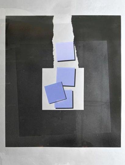 Rikizo FUKAO né 1946 Composition abstraite...
