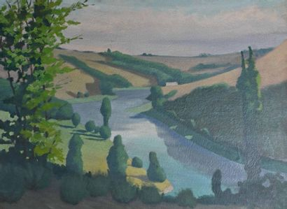 Pierre LAROCHE (1893-1982), attribué à Vue...