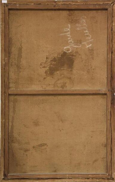 Ecole FRANCAISE de la fin du XVIIIe siècle Bureau d'un musicien Huile sur toile...