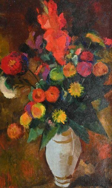 Ecole FRANCAISE du XXe siècle Bouquet de...