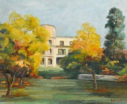 Emile Bert HARTWIG (1907-1996) La résidence...