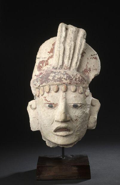 Tête de dignitaire  Culture Maya, Guatemala...