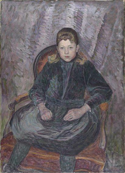 Umberto BOCCIONI (1882-1916)  Ritratto di...