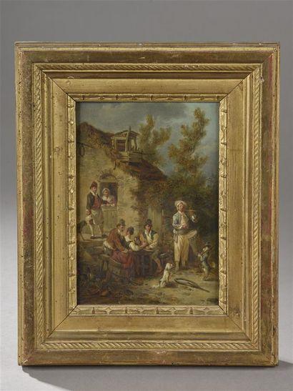 Attribué à Jean-Baptiste LEPRINCE (1734-...