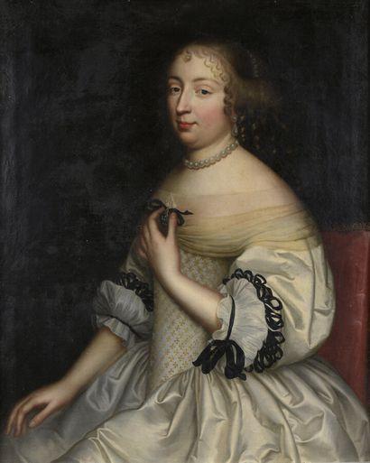 Attribué à Jean NOCRET (1601 - 1674)  Portrait...