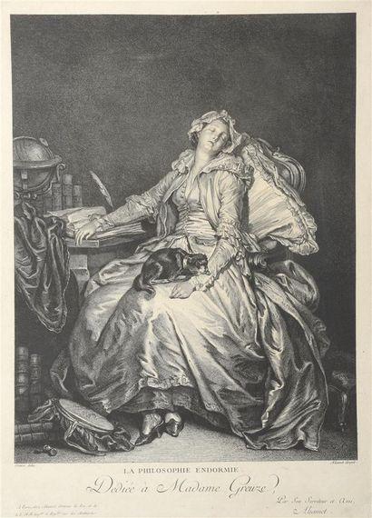 Jacques ALIAMET(1726 -1788)  La Philosophie...