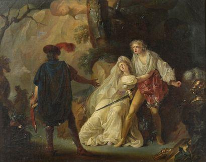 Attribué à Jean-Frédéric SCHALL (1752 - Paris...