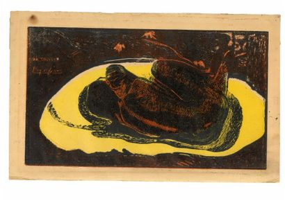 Paul GAUGUIN (1848 - 1903)  Manao Tupapau...
