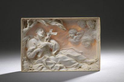 Rome, circa 1676/1685  La mort de saint François-Xavier...