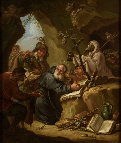 Etienne LOYS (1724-1788)  La tentation de...