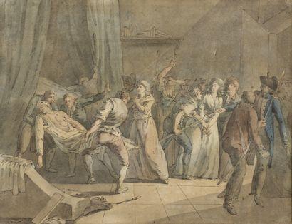 Attribué à Louis BRION DE LA TOUR (1743-1803)...