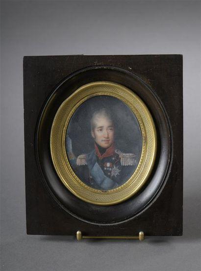 Ecole Française début du XIXe siècle  Portrait...