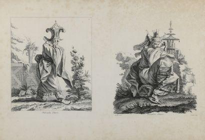 François BOUCHER(1703-1770) d'après  Livres...