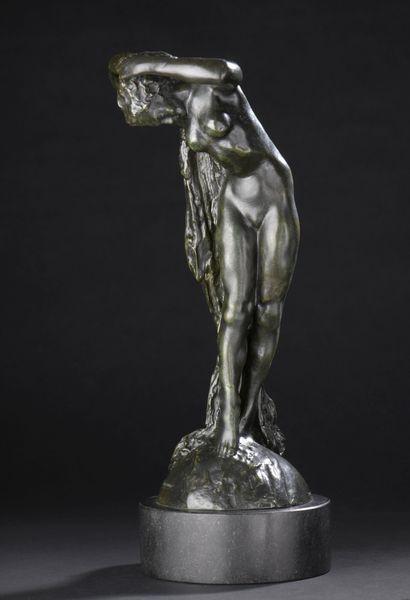 Joseph-Antoine BERNARD (1866-1931)  La Chute...