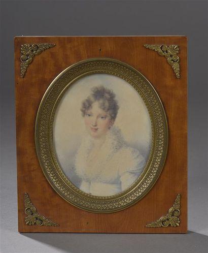 Jean Baptiste ISABEY (1767-1855)  Portrait...