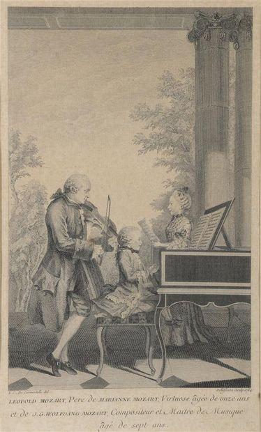 Louis CARMONTELLE (1717 - 1806) d'après  Léopold...