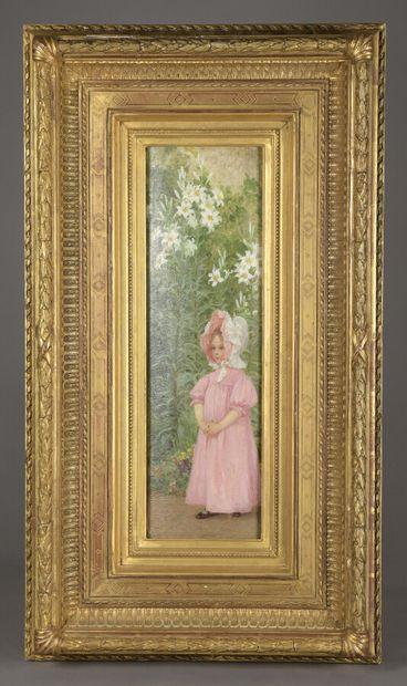 Elisabeth SONREL (1874-1953)  Petite fille...