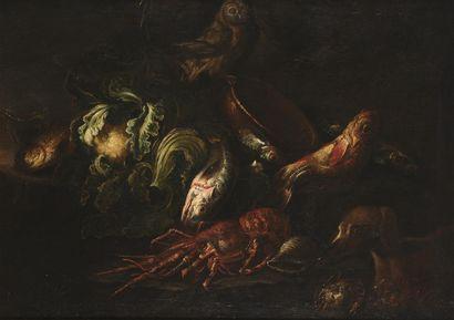 Attribué à Felice BOSELLI ( 1651 - 1732)...