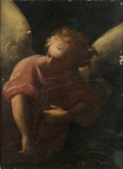 École ITALIENNE du XVIIe siècle  Un ange...