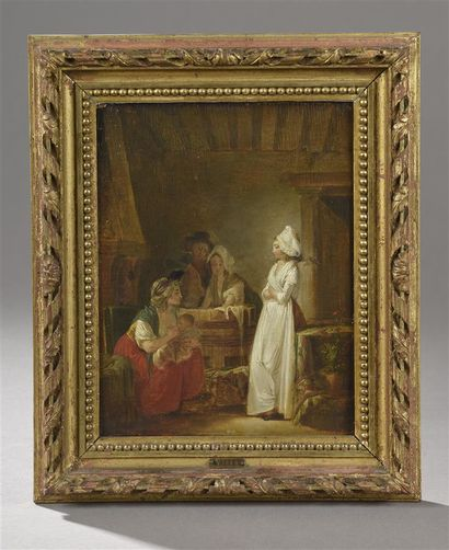 Attribué à Jean-Baptiste MALLET (1759 - 1835)...