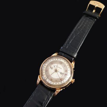 MOVADO  Montre bracelet en or 750 millièmes...