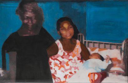 Odette MESSAGER, né en 1967 - République Démocratique du Congo  Mamu na Mamu, 2019...