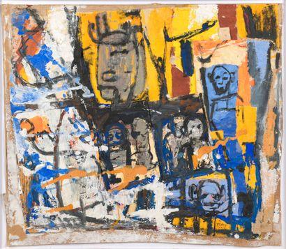 TAMSIR DIA, né en 1950 - Côte d'Ivoire  Ghetto,...