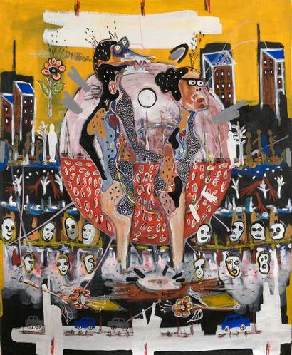 Pierre SEGOH, né en 1980 - Togo  Nous deux,...