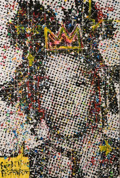 Conrad BO, né en 1972 - Afrique du Sud  Basquiat...